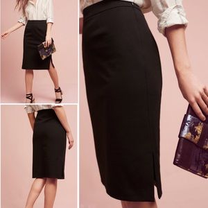 Anthropologie The Essential Pencil Skirt